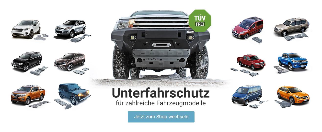 Unterfahrschutz -  -     TÜV frei und für sehr viele Fahrzeugvarianten verfügbar