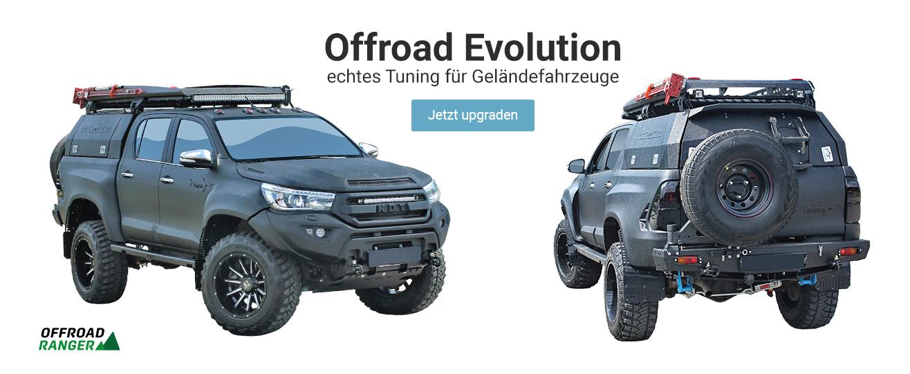 Offroad Evolution -  -     echtes Tuning für Geländefahrzeuge